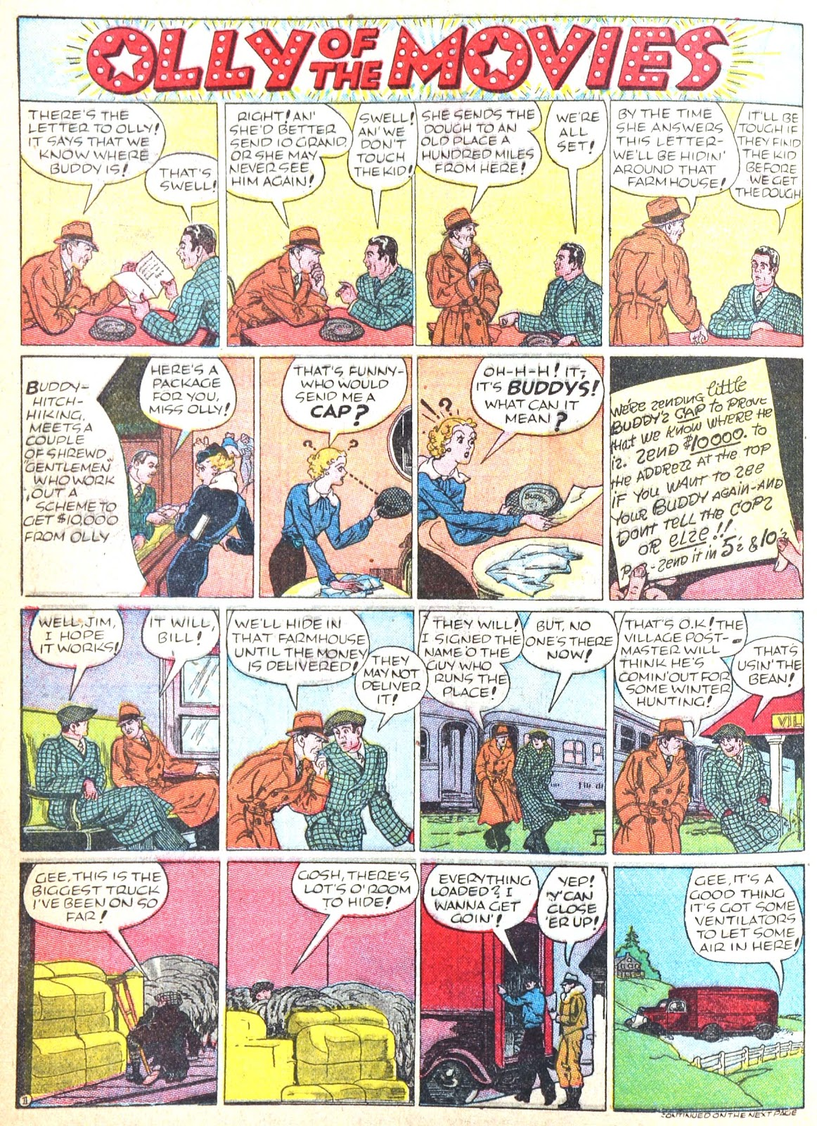 Read online Famous Funnies comic -  Issue #52 - 44