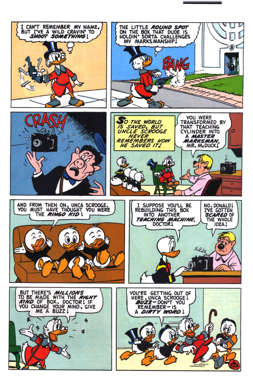 Read online Uncle Scrooge (1953) comic -  Issue #258 - 26