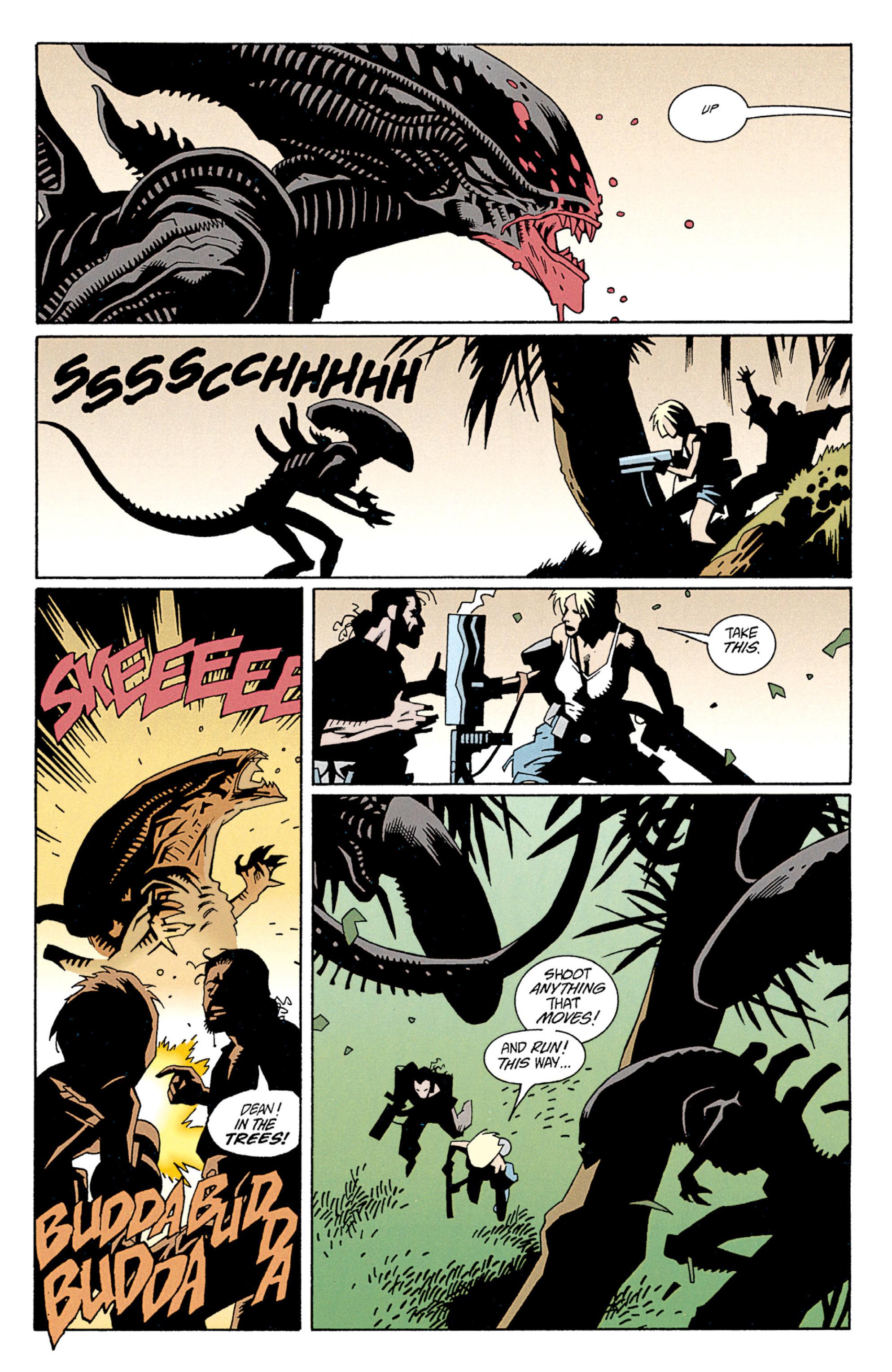 Read online Aliens: Salvation comic -  Issue # TPB - 32