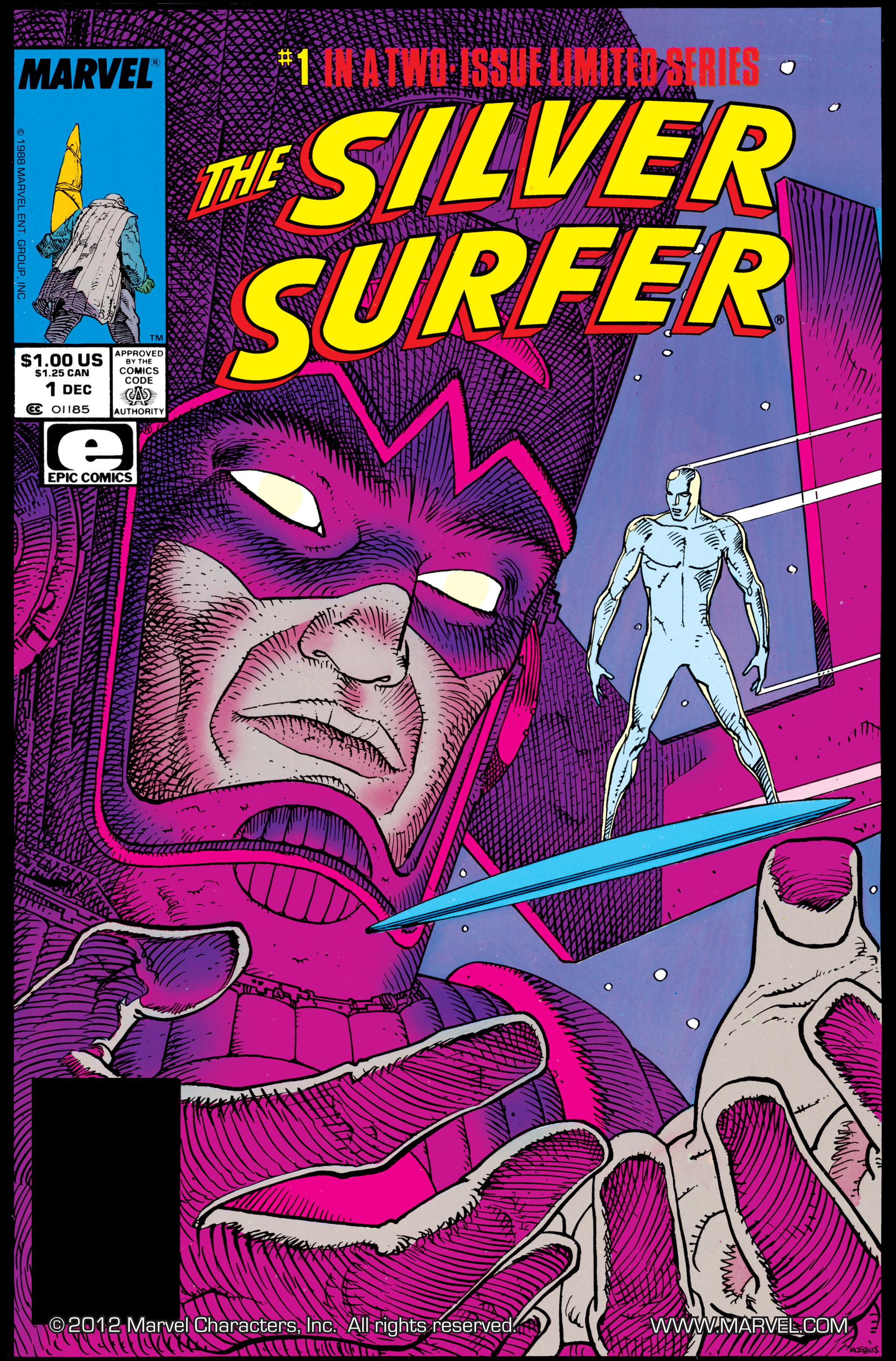 Read online Silver Surfer (1988) comic -  Issue #1 - 1