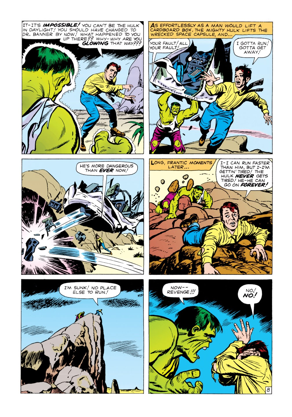Read online Marvel Masterworks: The Incredible Hulk comic -  Issue # TPB 1 (Part 1) - 61