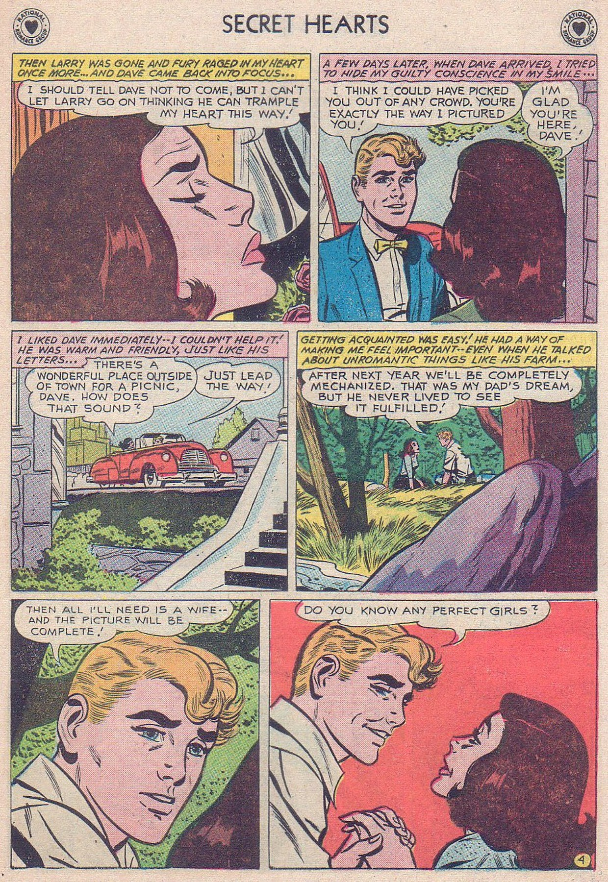 Read online Secret Hearts comic -  Issue #61 - 21