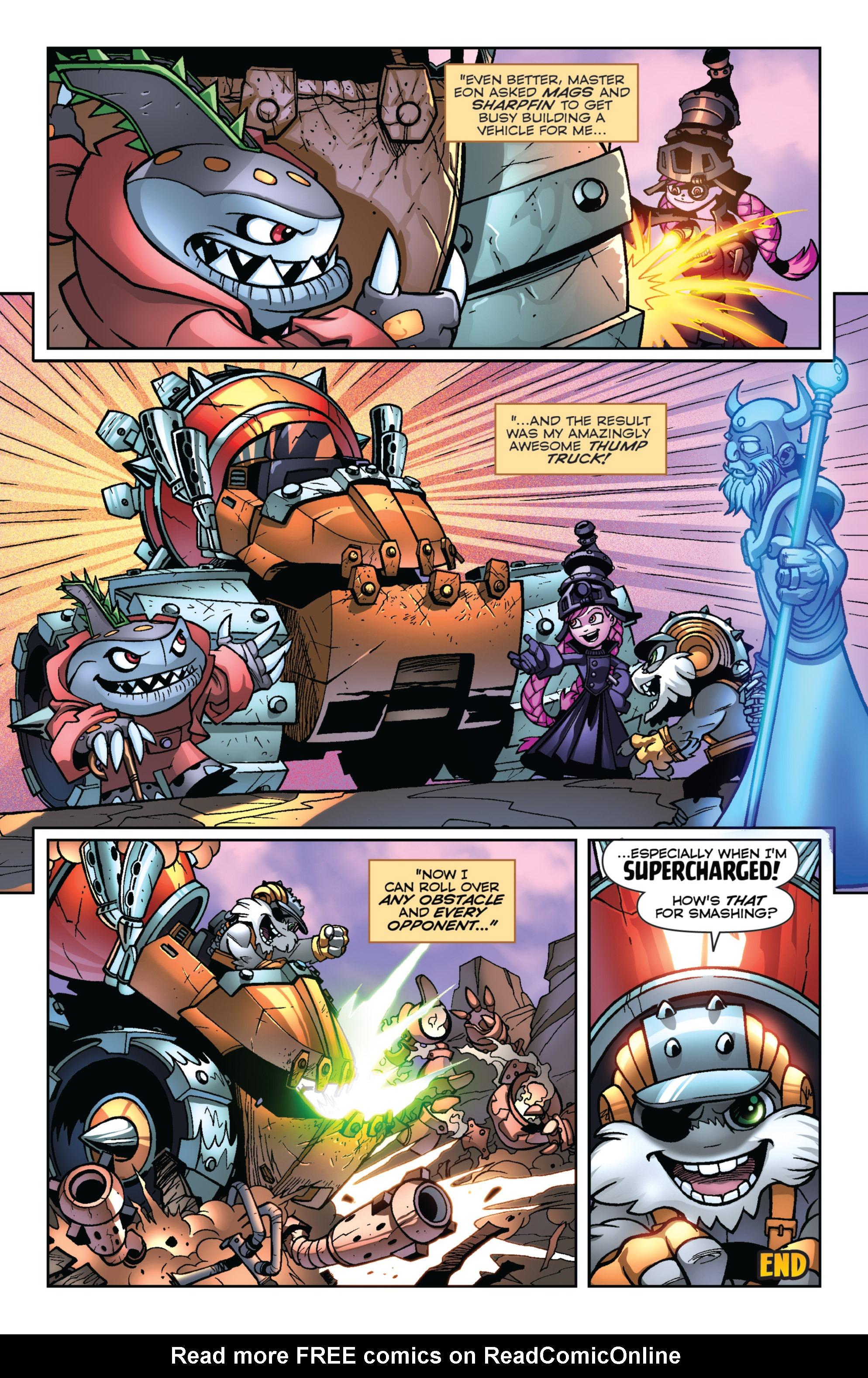 Read online Skylanders Superchargers comic -  Issue #2 - 22