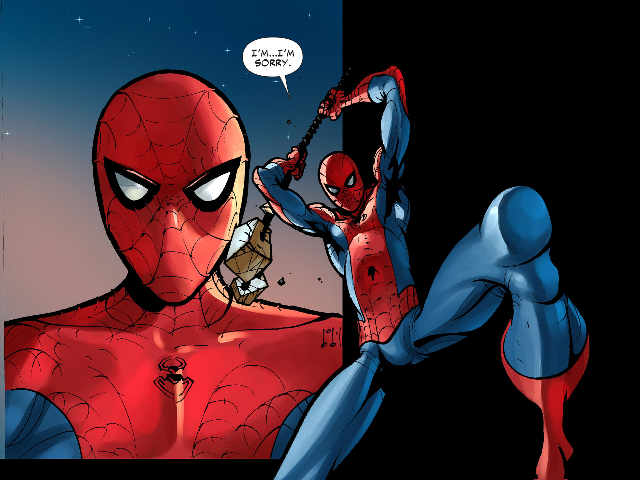 Read online Amazing Spider-Man: Who Am I? comic -  Issue # Full (Part 1) - 166