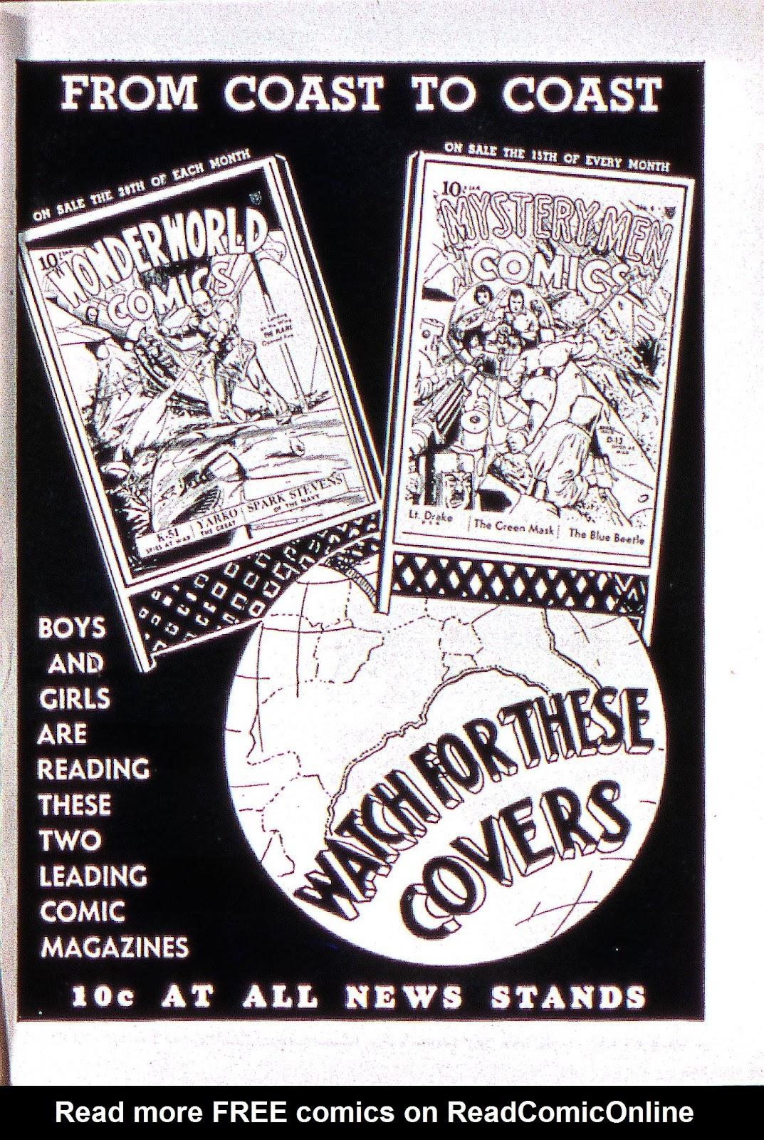 Read online Fantastic Comics comic -  Issue #2 - 66