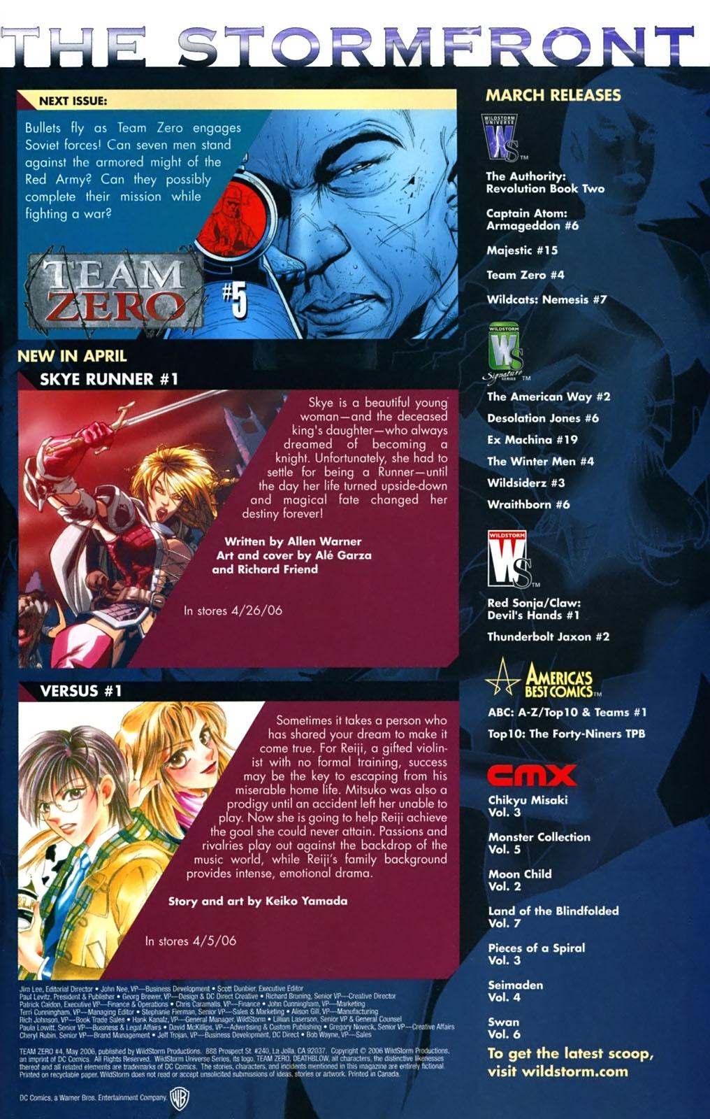 Team Zero Issue #4 #4 - English 21