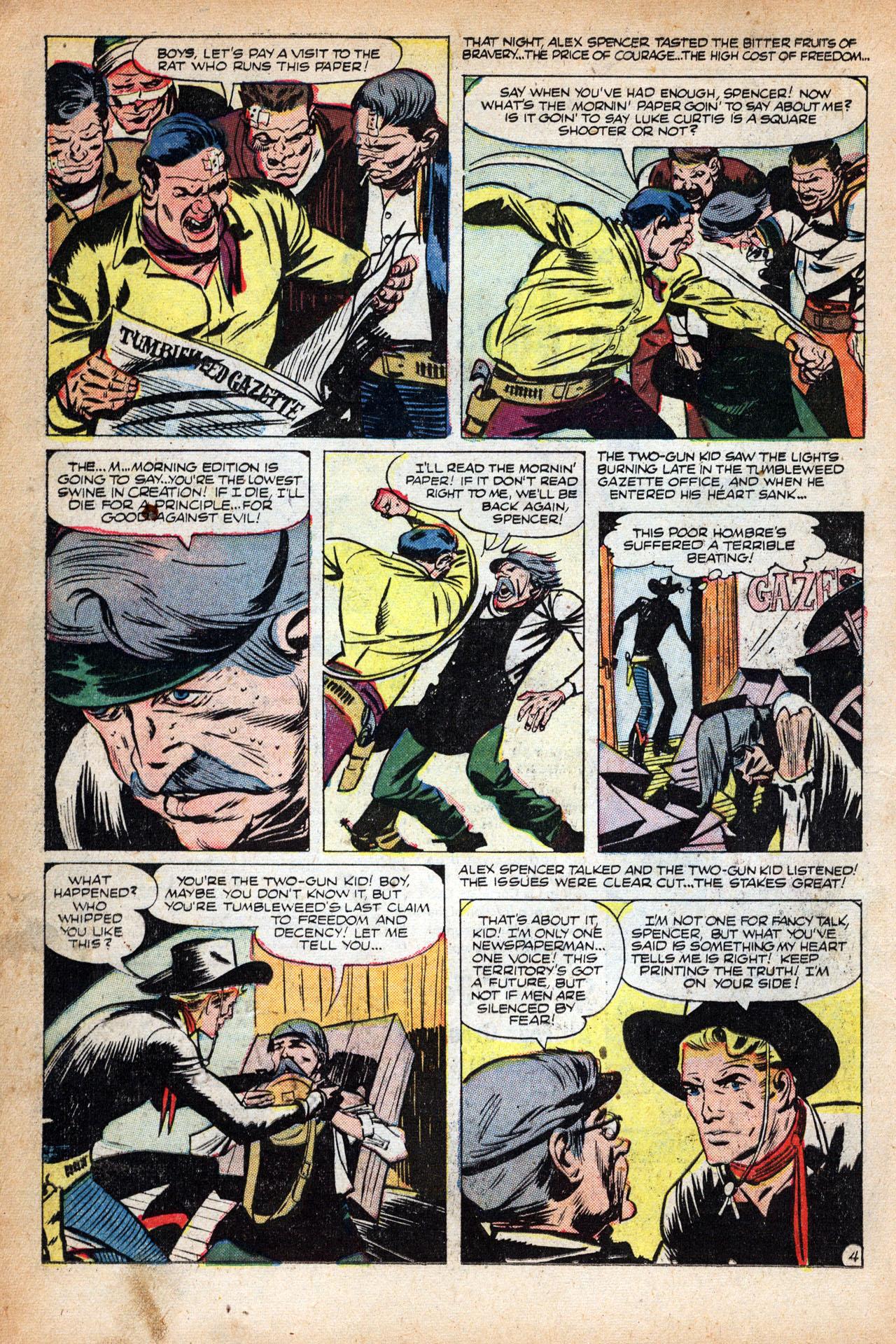 Read online Two-Gun Kid comic -  Issue #18 - 14