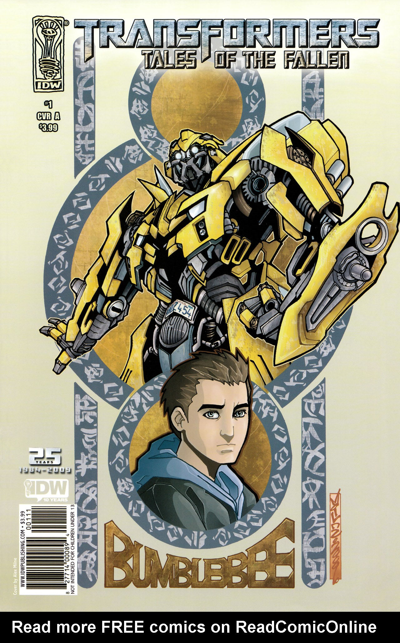 Read online Transformers: Tales of The Fallen comic -  Issue #1 - 1