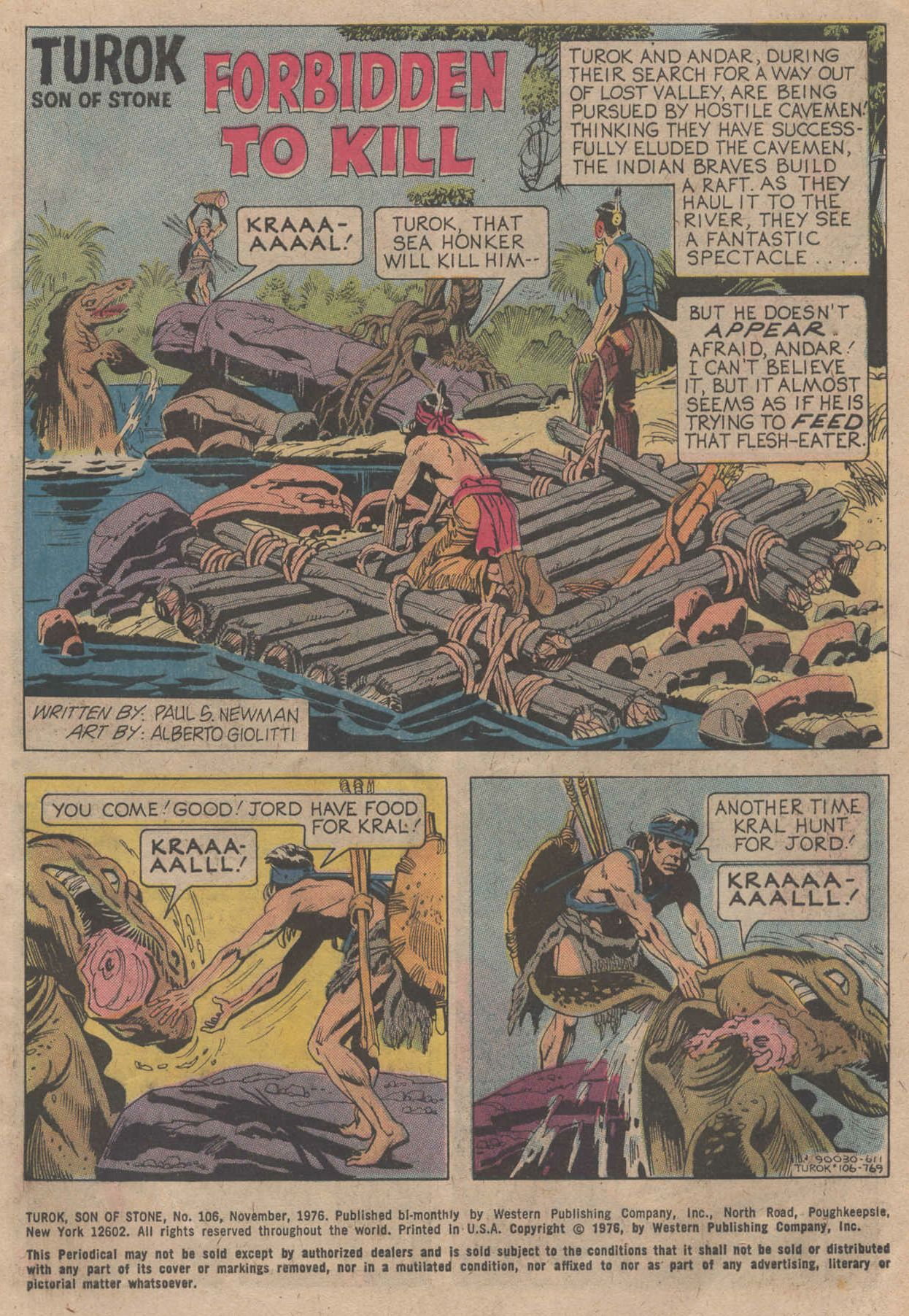 Read online Turok, Son of Stone comic -  Issue #106 - 3