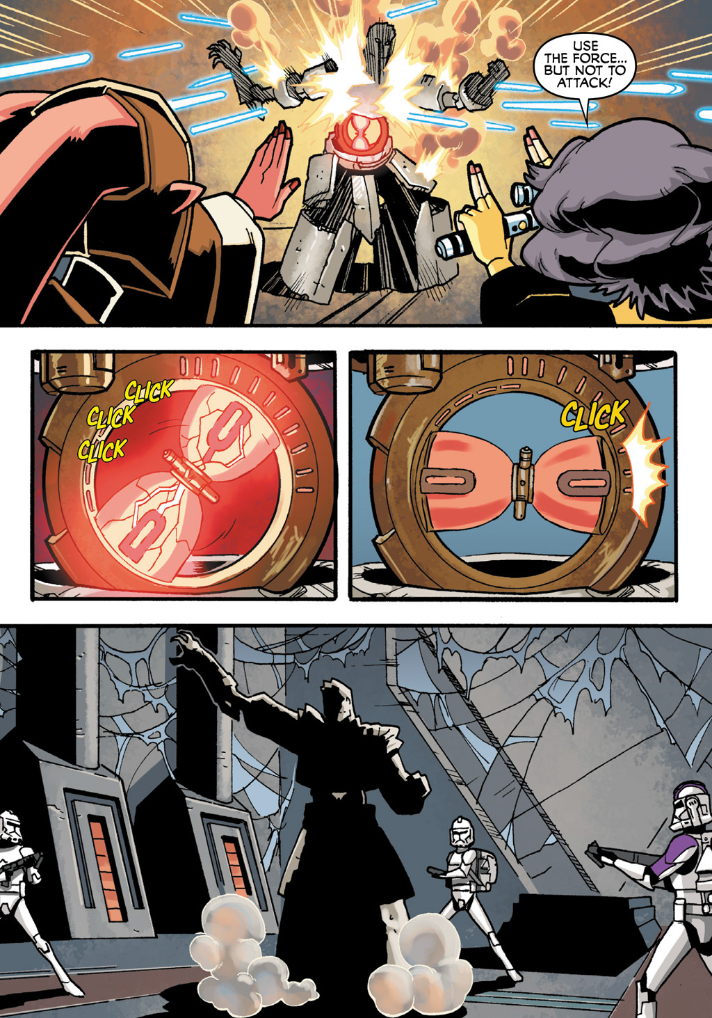 Read online Star Wars: The Clone Wars - Defenders of the Lost Temple comic -  Issue # Full - 23