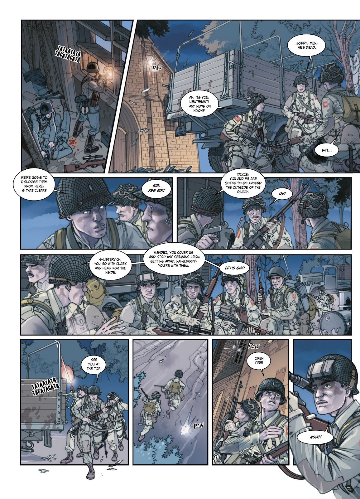 Read online Opération Overlord comic -  Issue #1 - 40