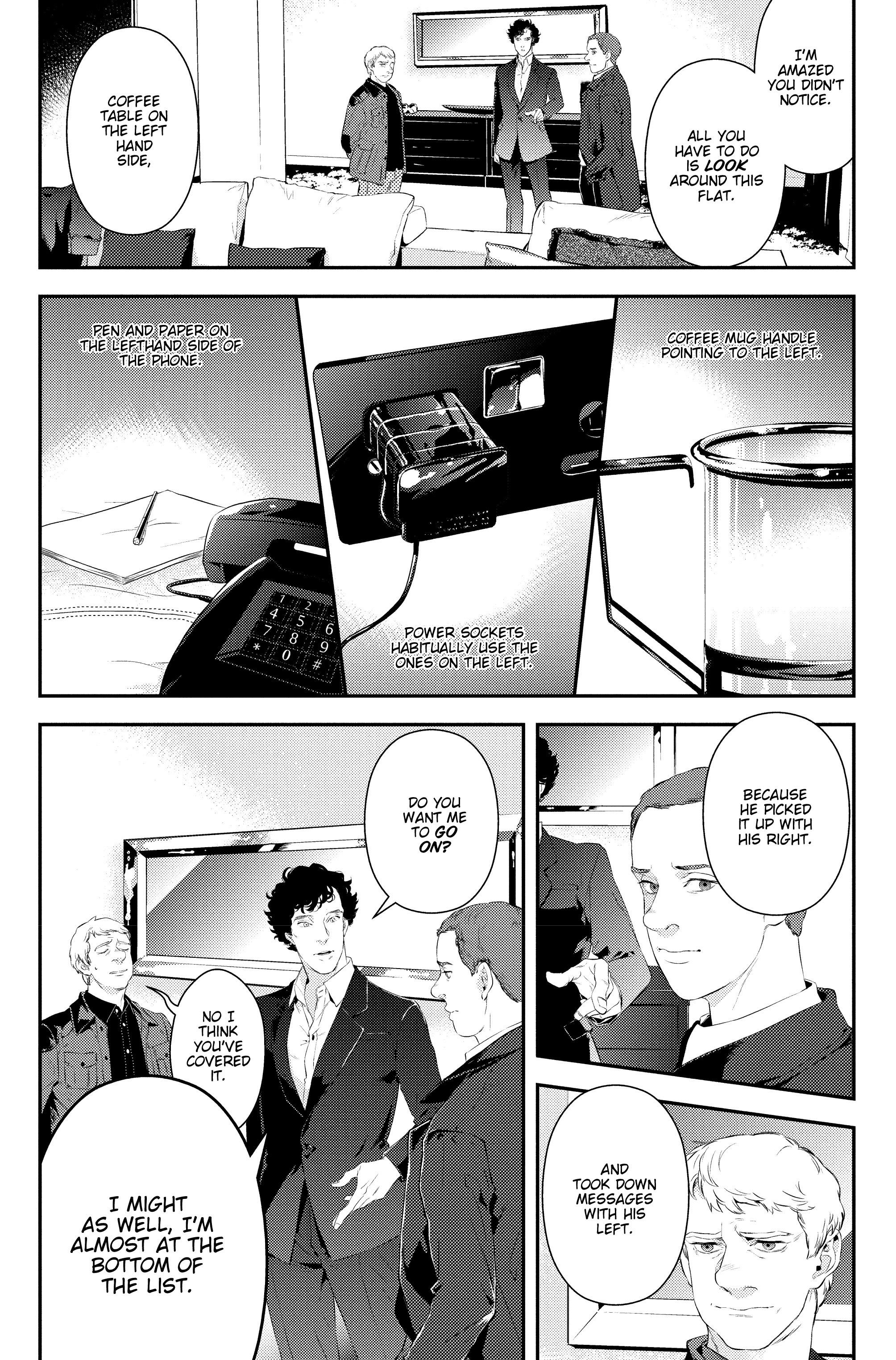 Read online Sherlock: The Blind Banker comic -  Issue #2 - 14
