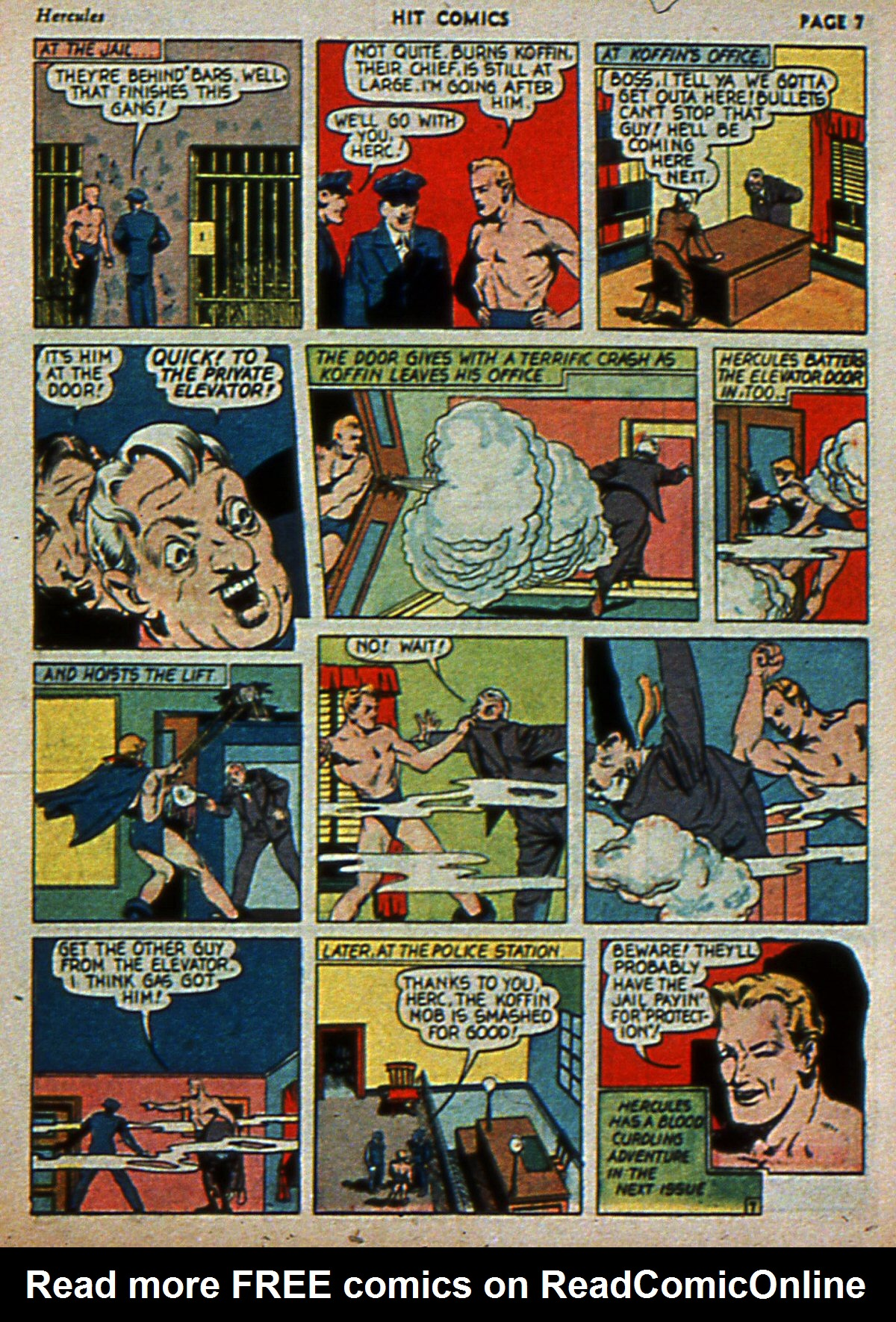 Read online Hit Comics comic -  Issue #3 - 9