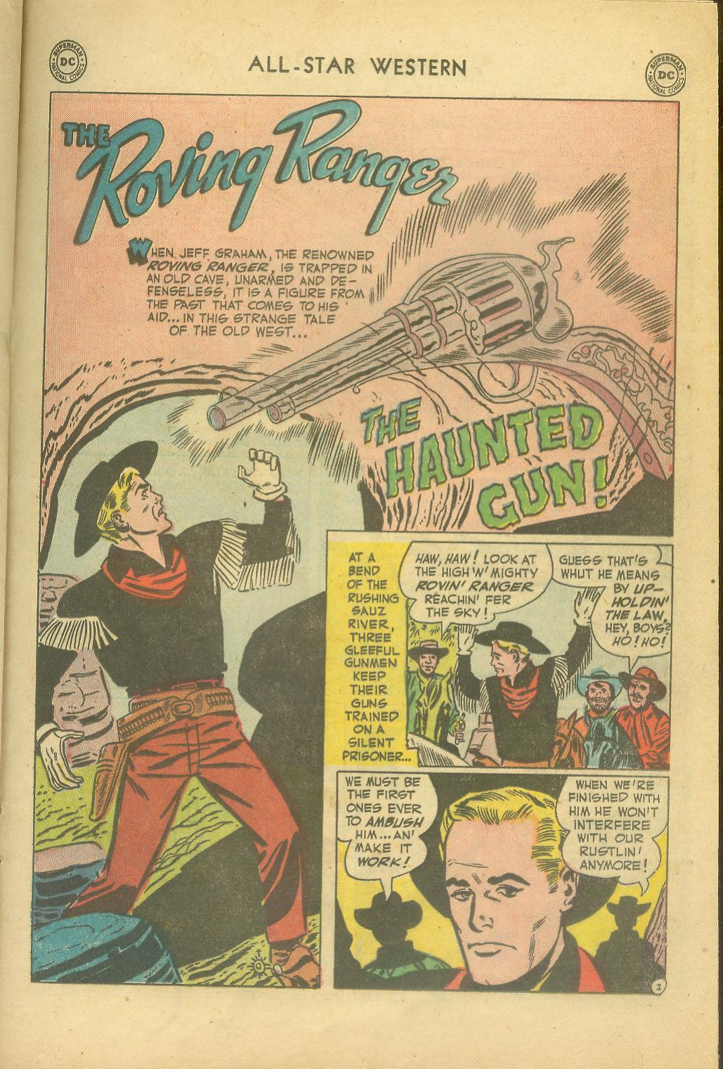 Read online All-Star Western (1951) comic -  Issue #65 - 21