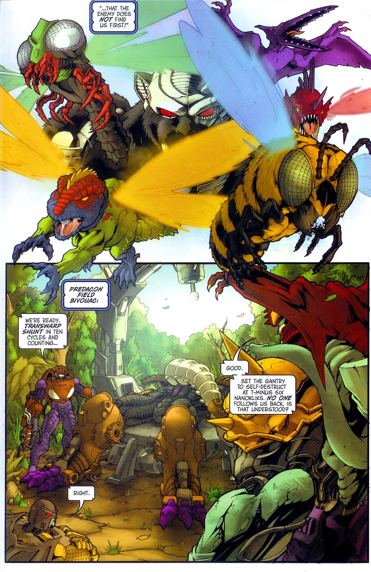 Read online Transformers, Beast Wars: The Gathering comic -  Issue #3 - 24