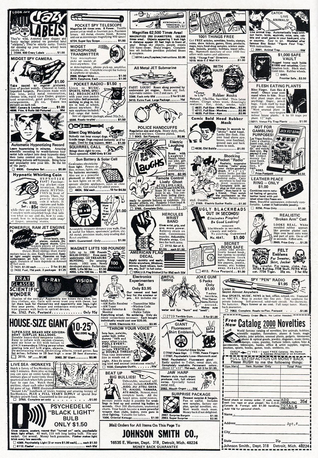 Read online Amazing Adventures (1970) comic -  Issue #8 - 2