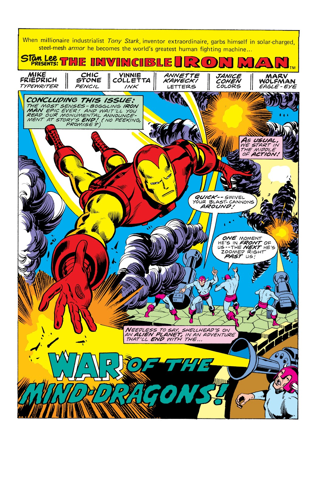 Read online Marvel Masterworks: The Invincible Iron Man comic -  Issue # TPB 10 (Part 3) - 33