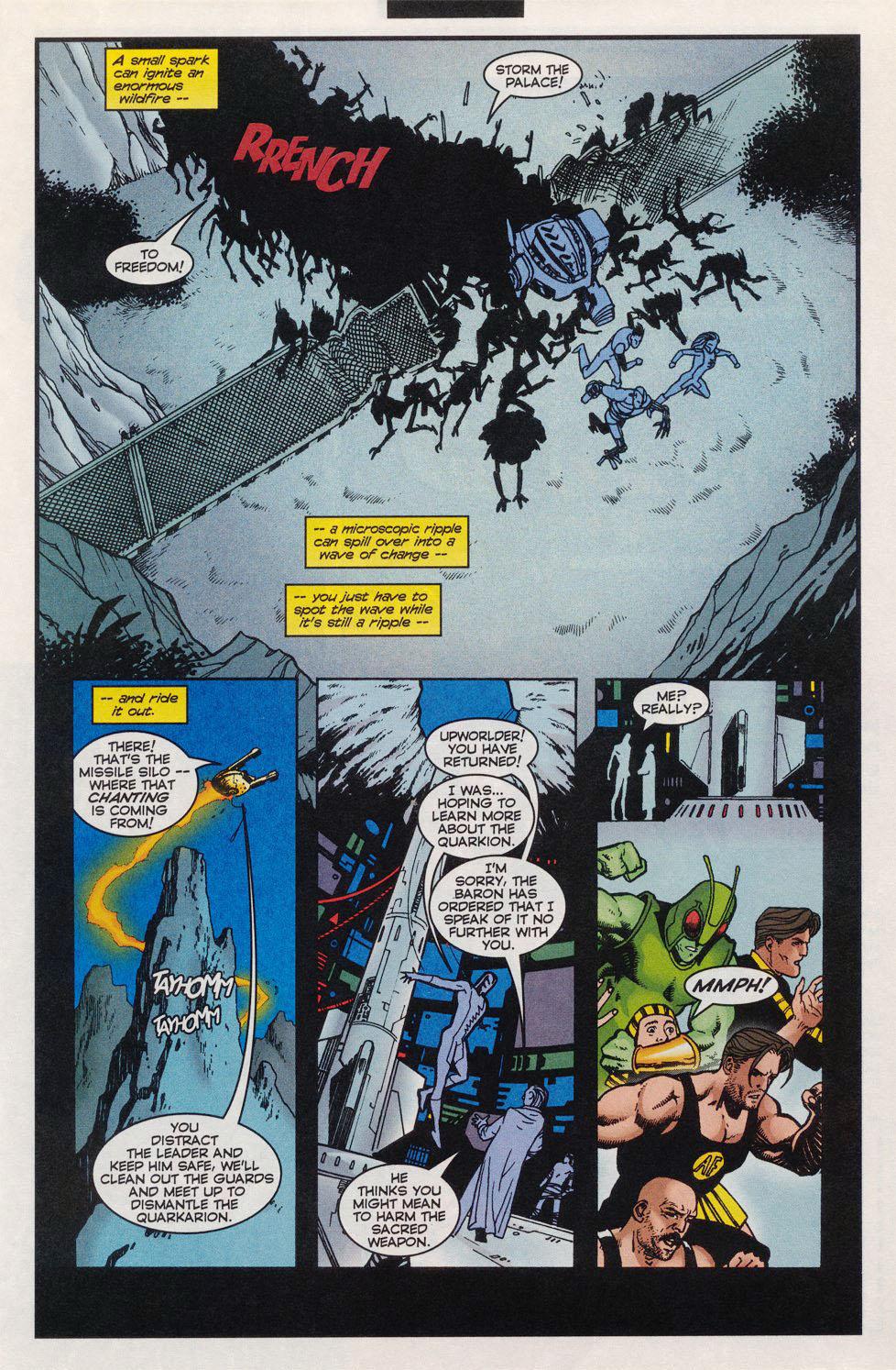 Read online Alpha Flight (1997) comic -  Issue #11 - 14