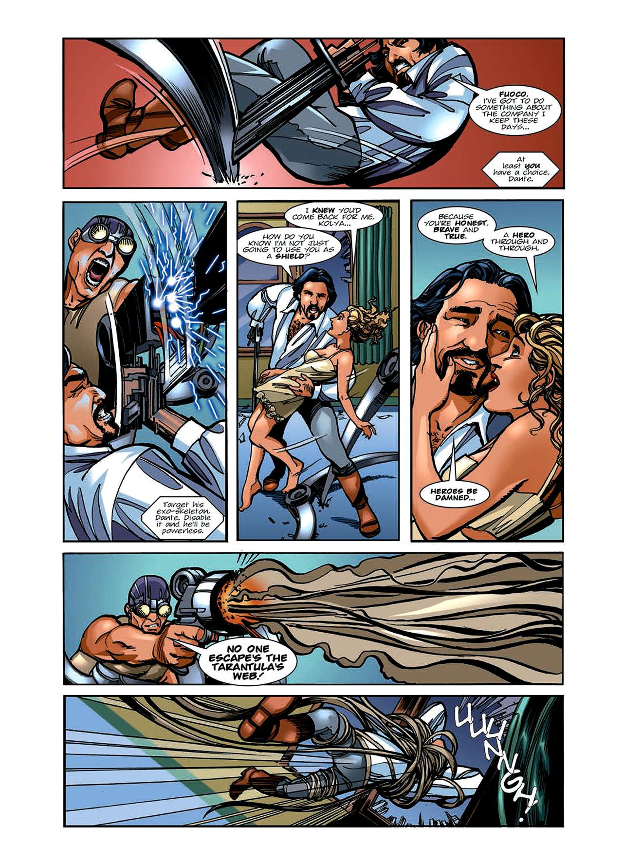 Read online Nikolai Dante comic -  Issue # TPB 6 - 62