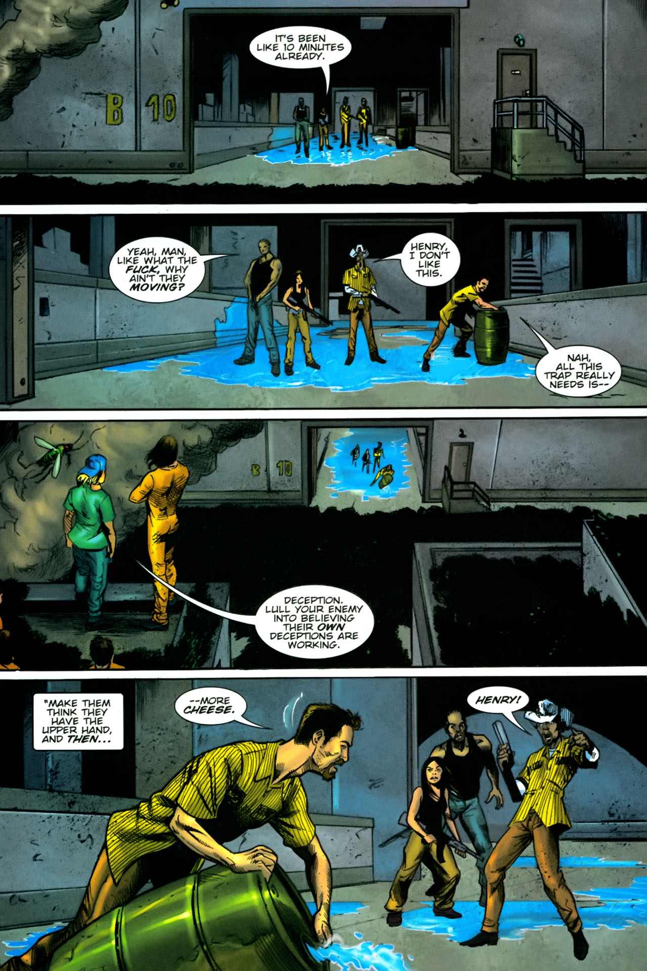 Read online The Exterminators comic -  Issue #23 - 6
