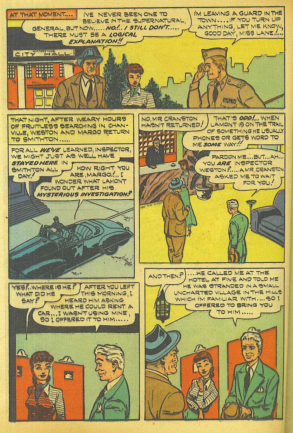 Read online Shadow Comics comic -  Issue #87 - 39