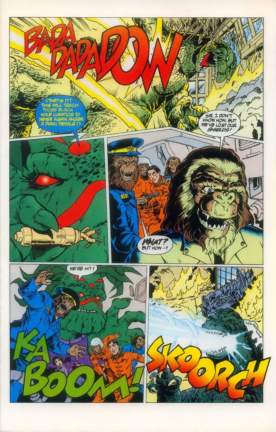 Godzilla (1995) Issue #8 #9 - English 24