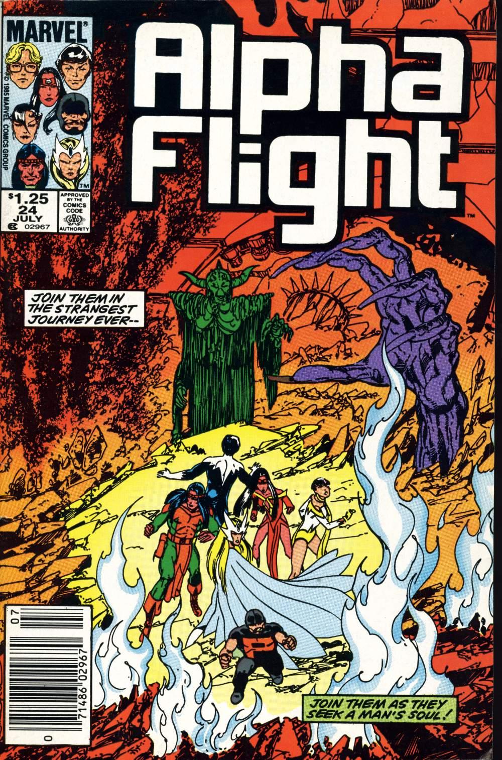 Alpha Flight (1983) 24 Page 1