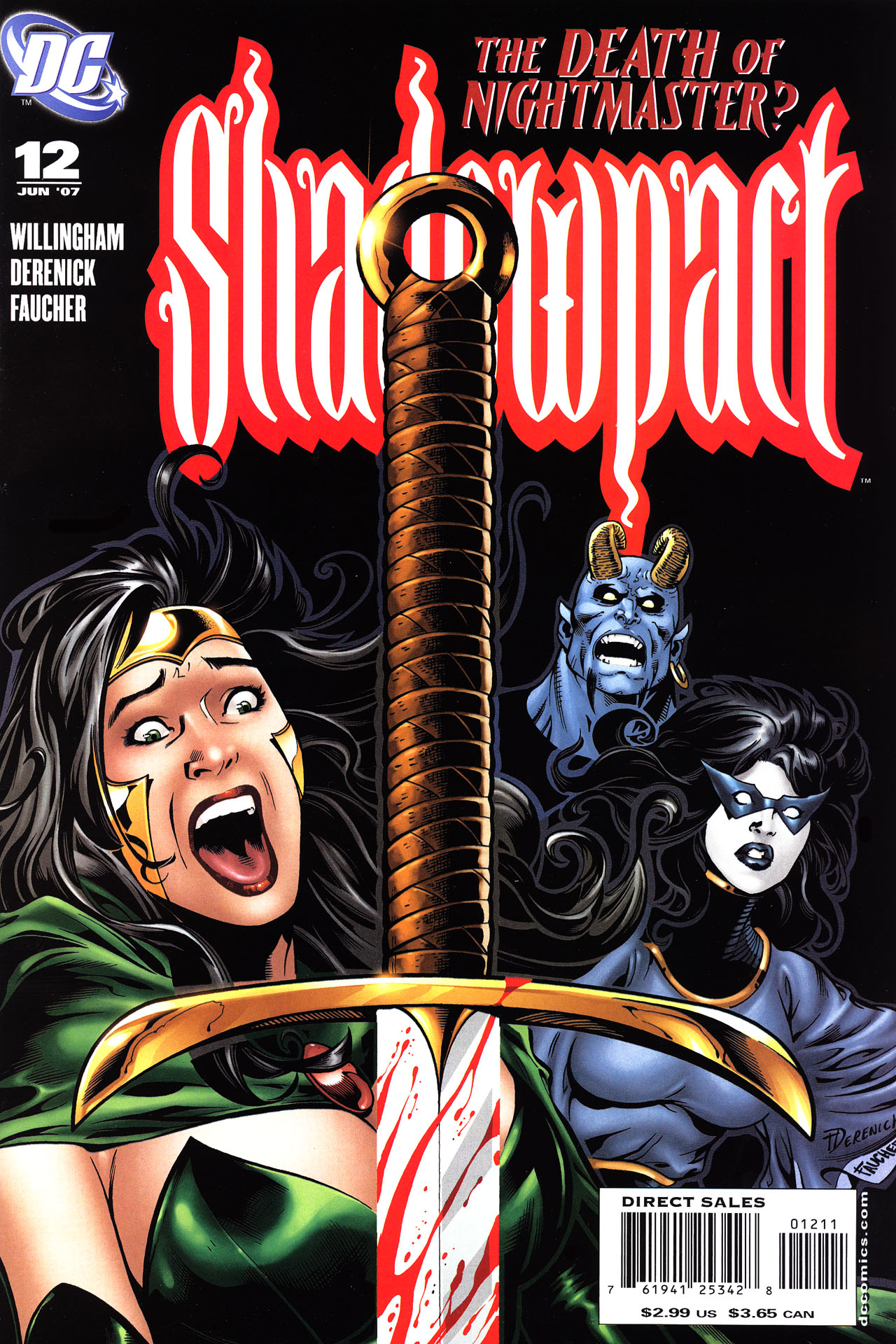 Read online Shadowpact comic -  Issue #12 - 1