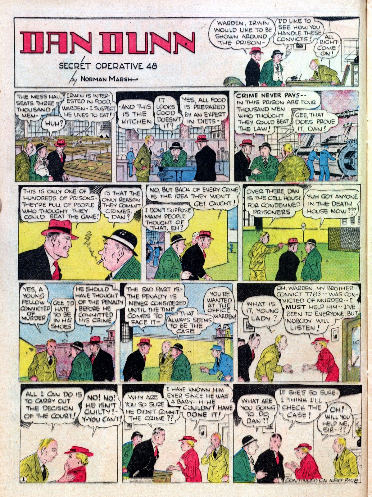 Read online Famous Funnies comic -  Issue #25 - 28