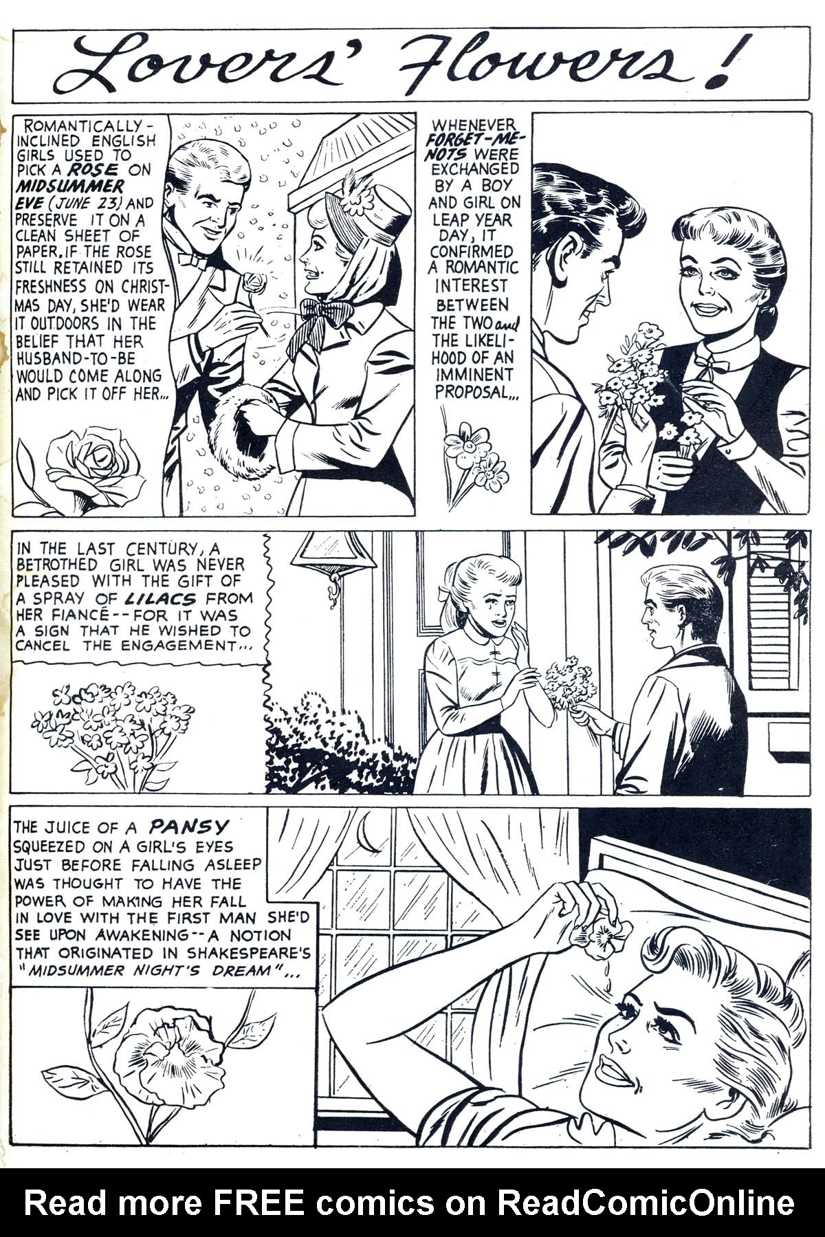 Read online Secret Hearts comic -  Issue #55 - 35