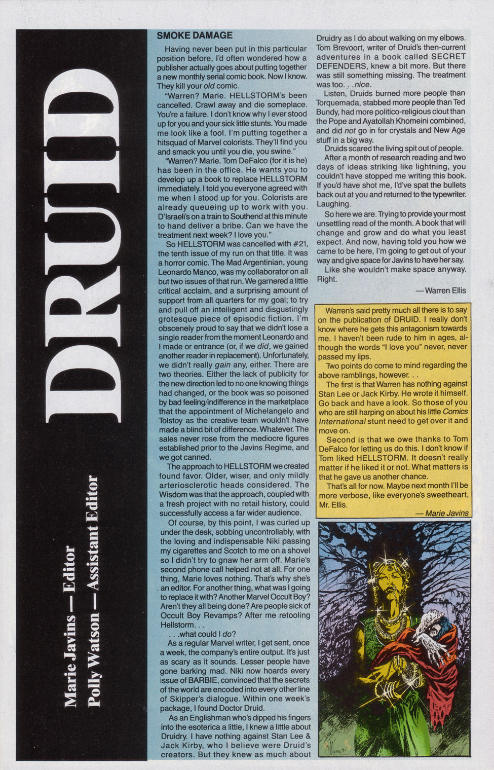 Read online Druid comic -  Issue #1 - 25
