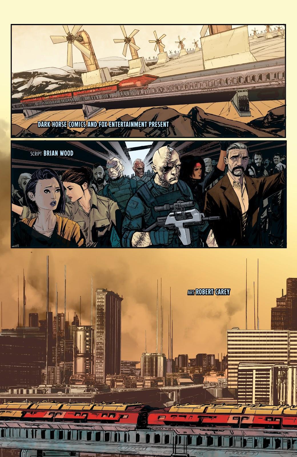 Read online Aliens: Resistance comic -  Issue #1 - 6