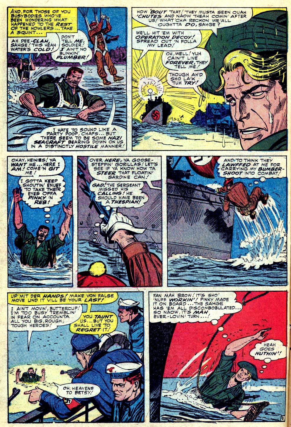 Read online Sgt. Fury comic -  Issue #28 - 14