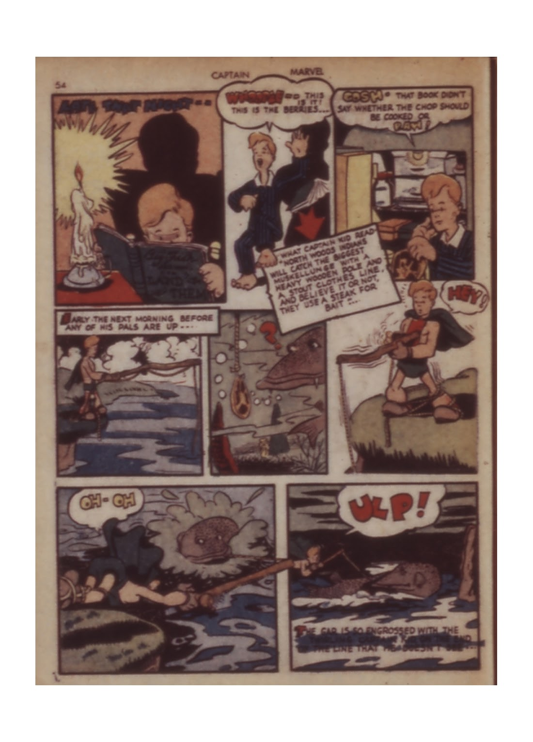 Captain Marvel Adventures issue 11 - Page 54