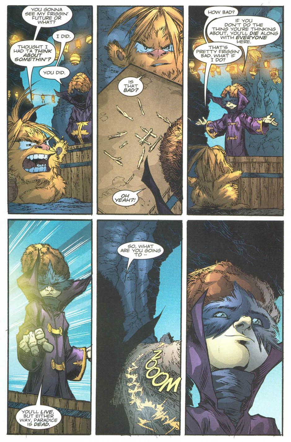 Read online Ninja Boy comic -  Issue #4 - 22