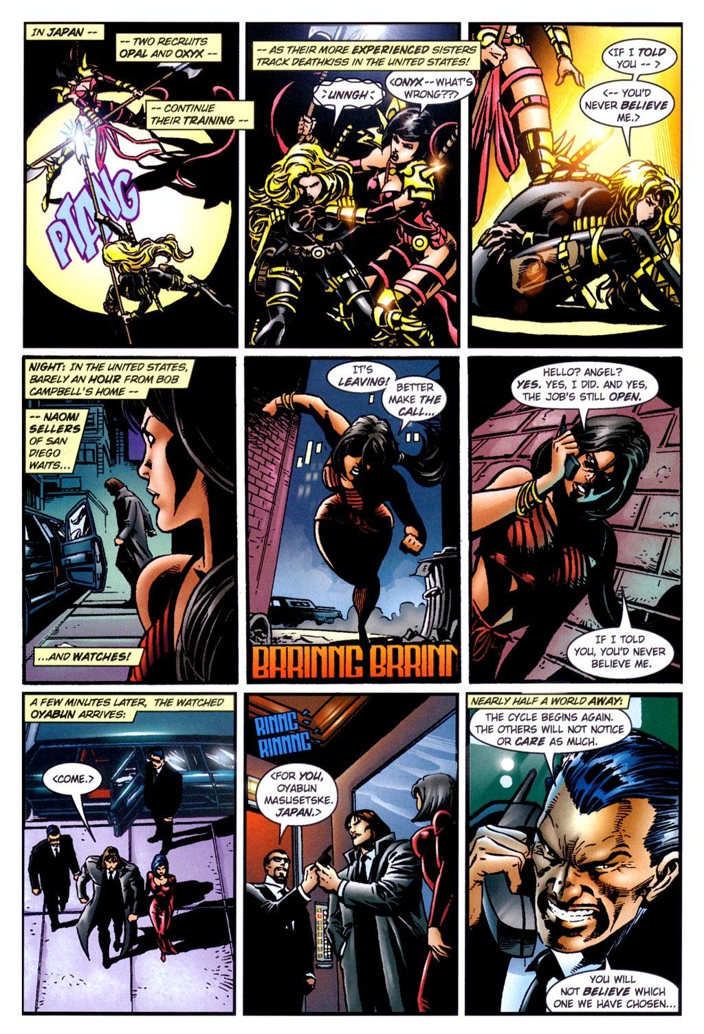 Read online Jade Warriors comic -  Issue #2 - 11