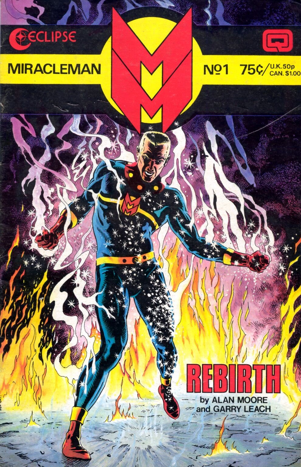 Miracleman (1985) issue 1 - Page 1