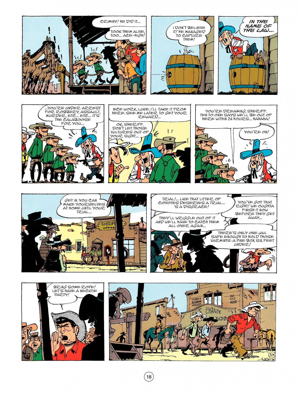 Read online A Lucky Luke Adventure comic -  Issue #47 - 18