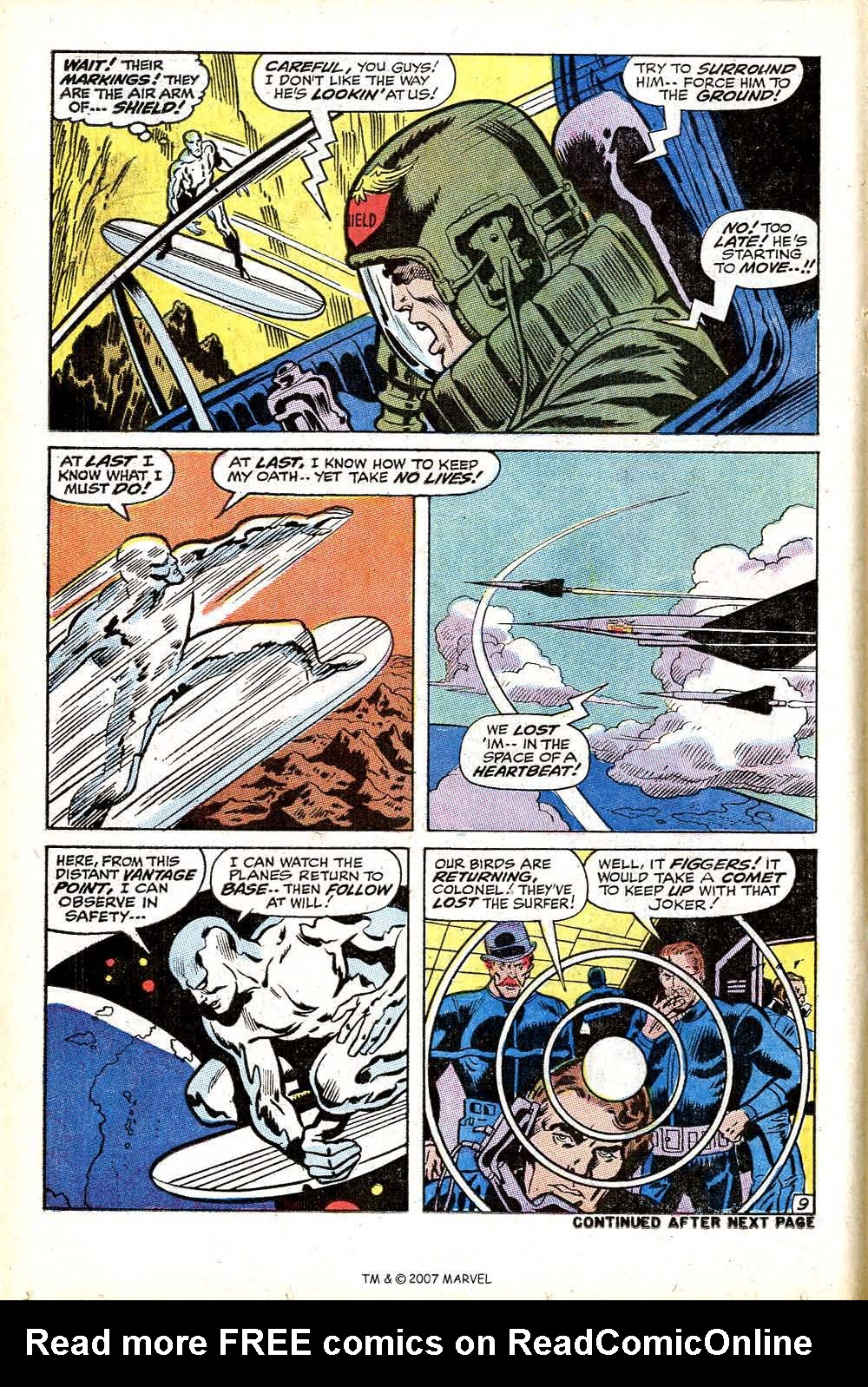 Read online Silver Surfer (1968) comic -  Issue #17 - 14