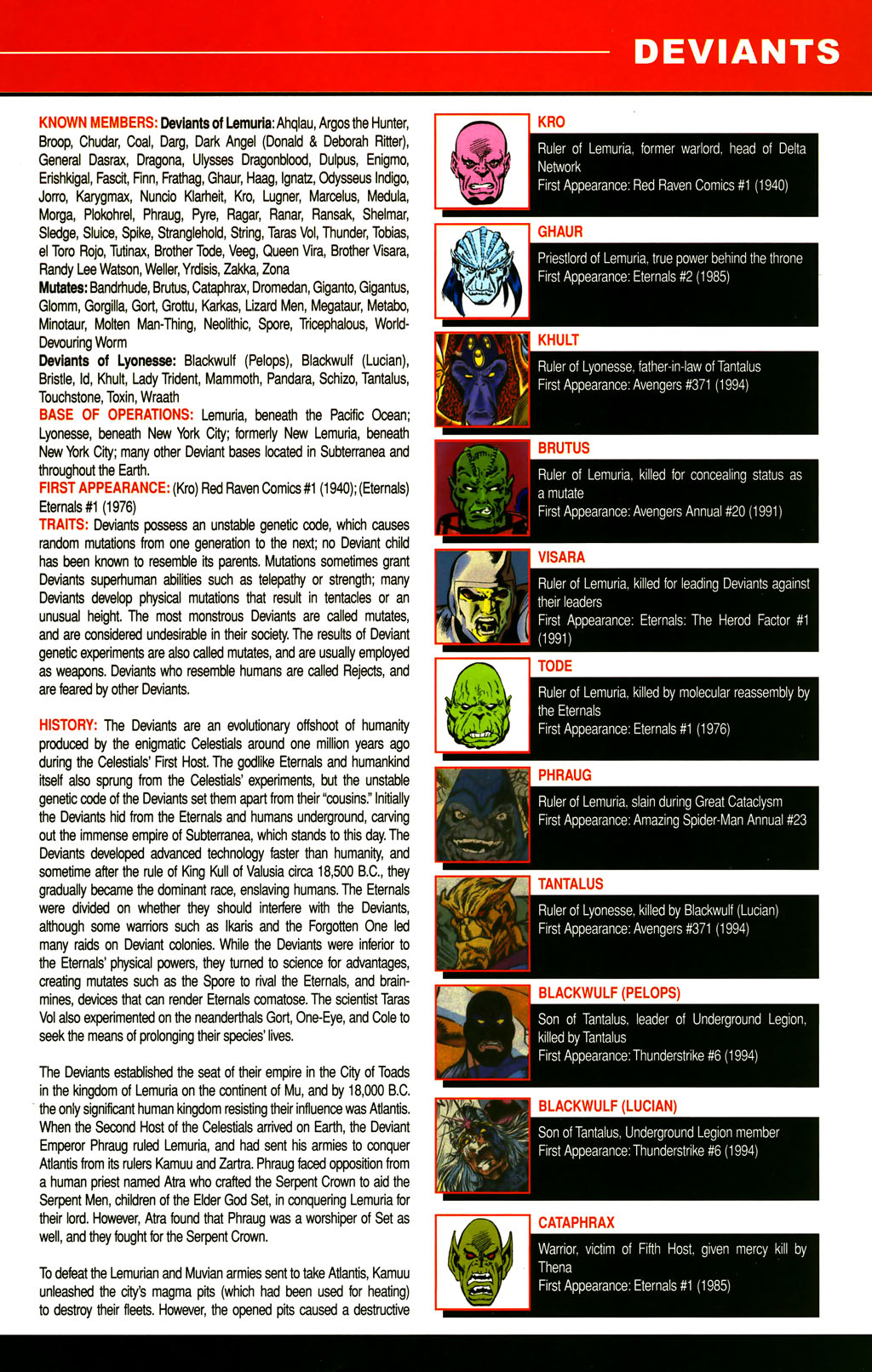 Read online All-New Official Handbook of the Marvel Universe A to Z comic -  Issue #3 - 43