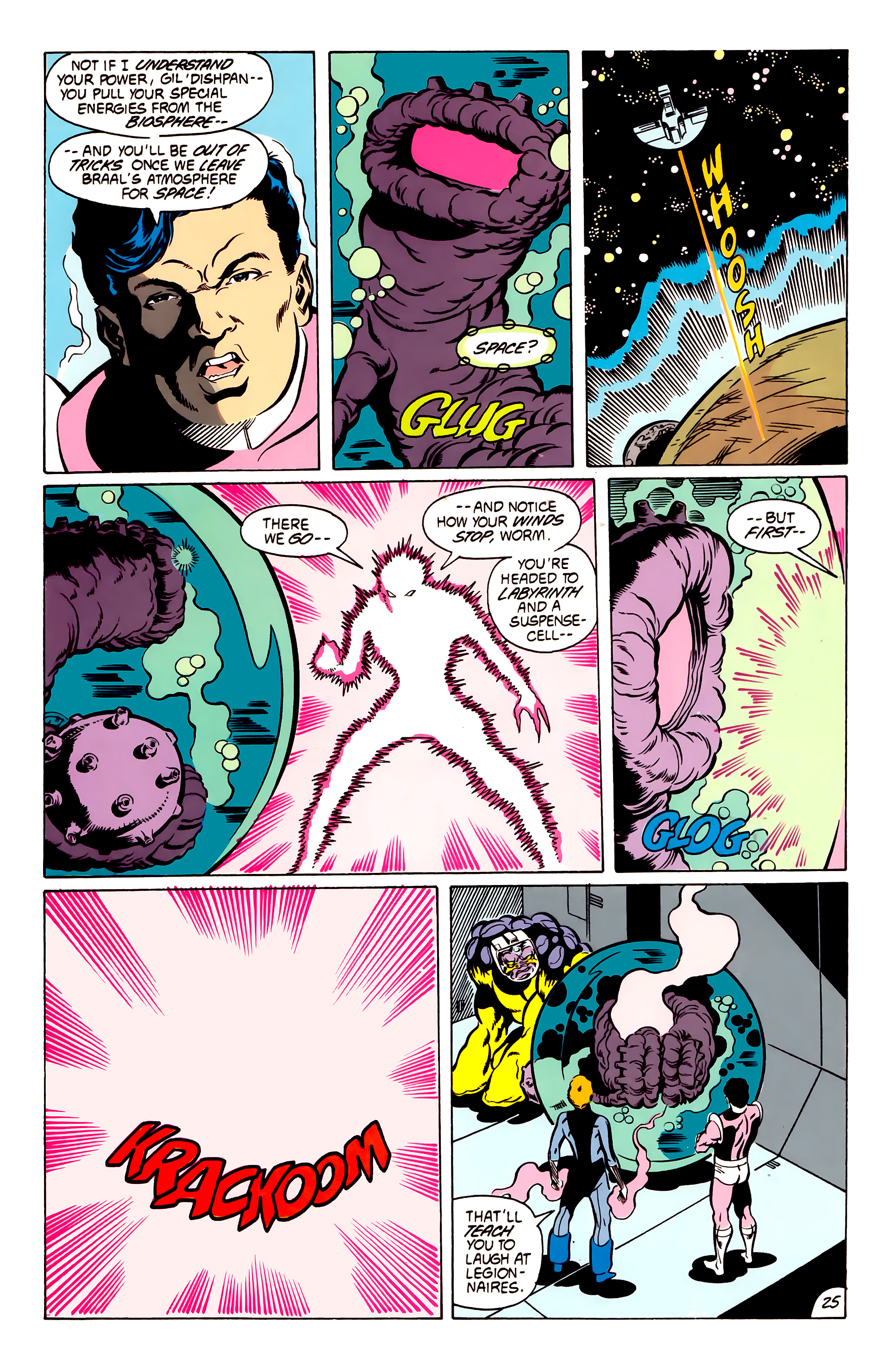 Legion of Super-Heroes (1984) 53 Page 25