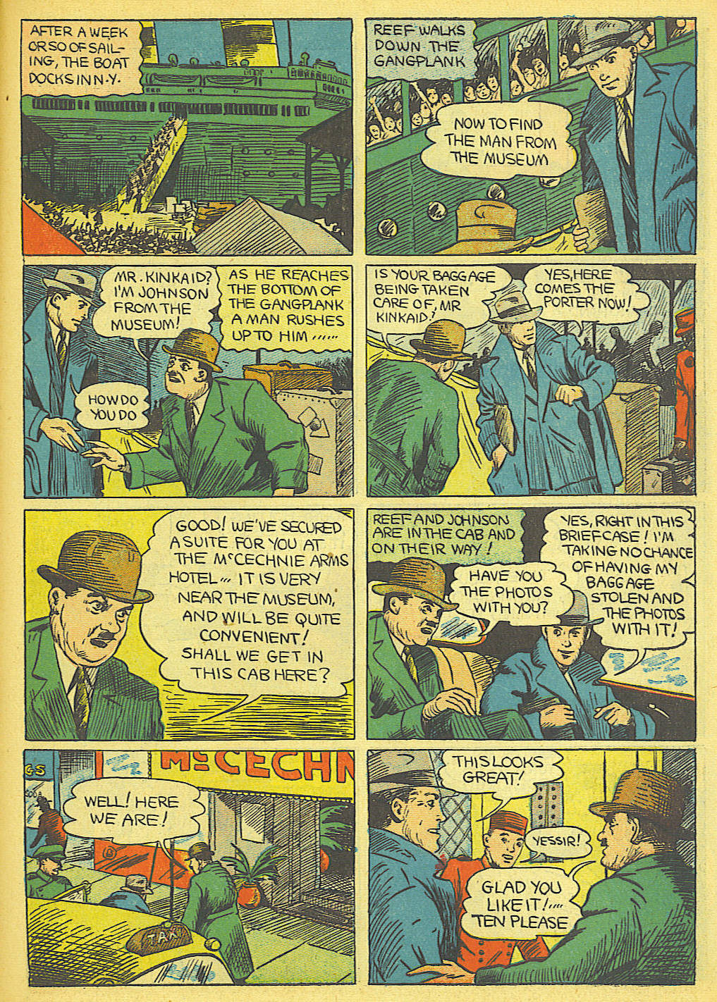 Read online Amazing Man Comics comic -  Issue #19 - 53