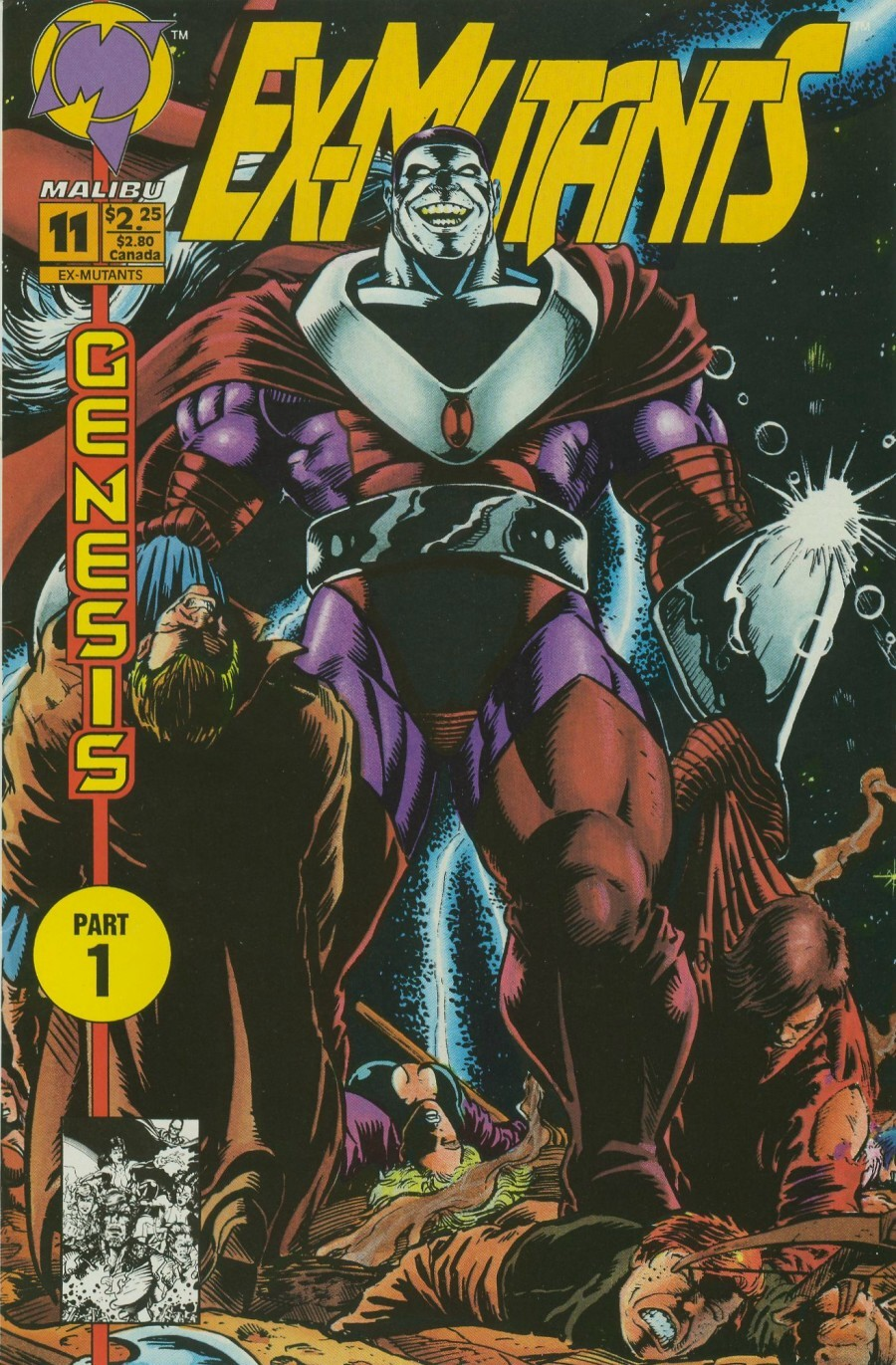 Read online Ex-Mutants comic -  Issue #11 - 1