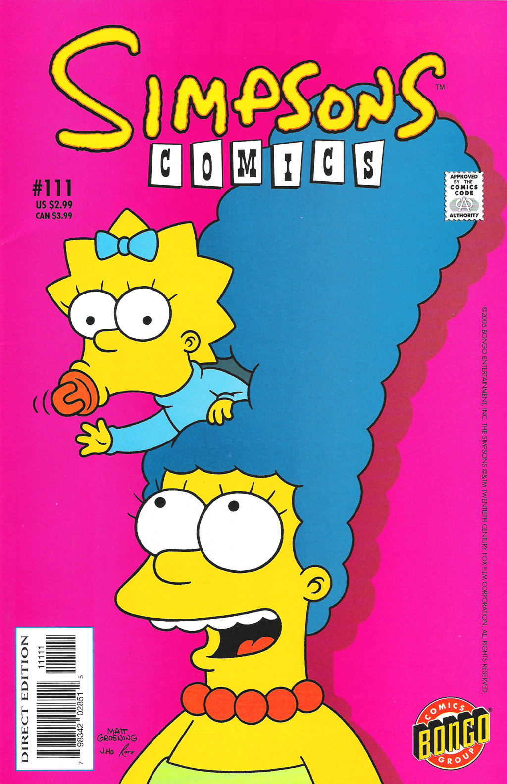 Read online Simpsons Comics comic -  Issue #111 - 1