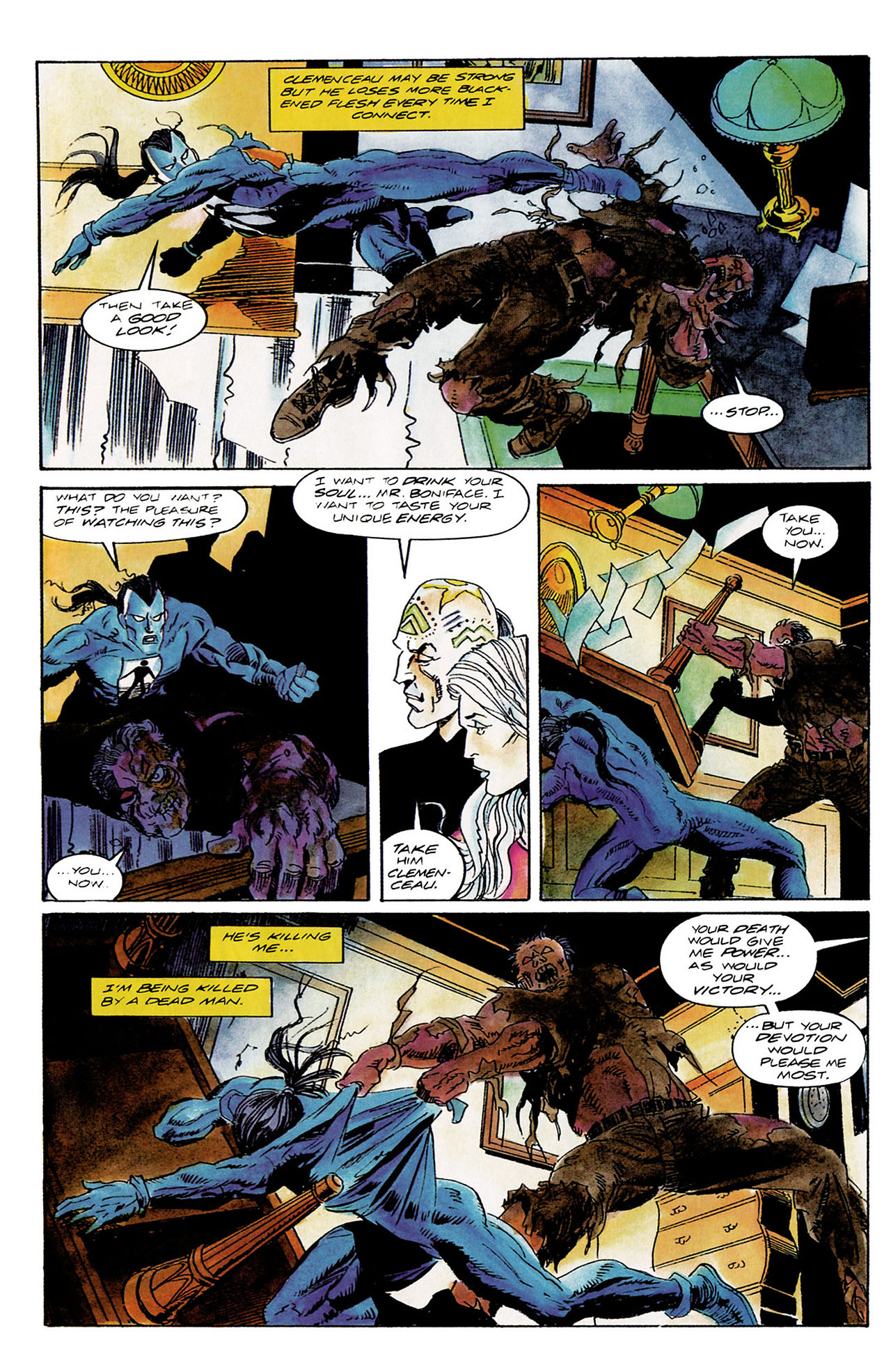Read online Shadowman (1992) comic -  Issue #10 - 17