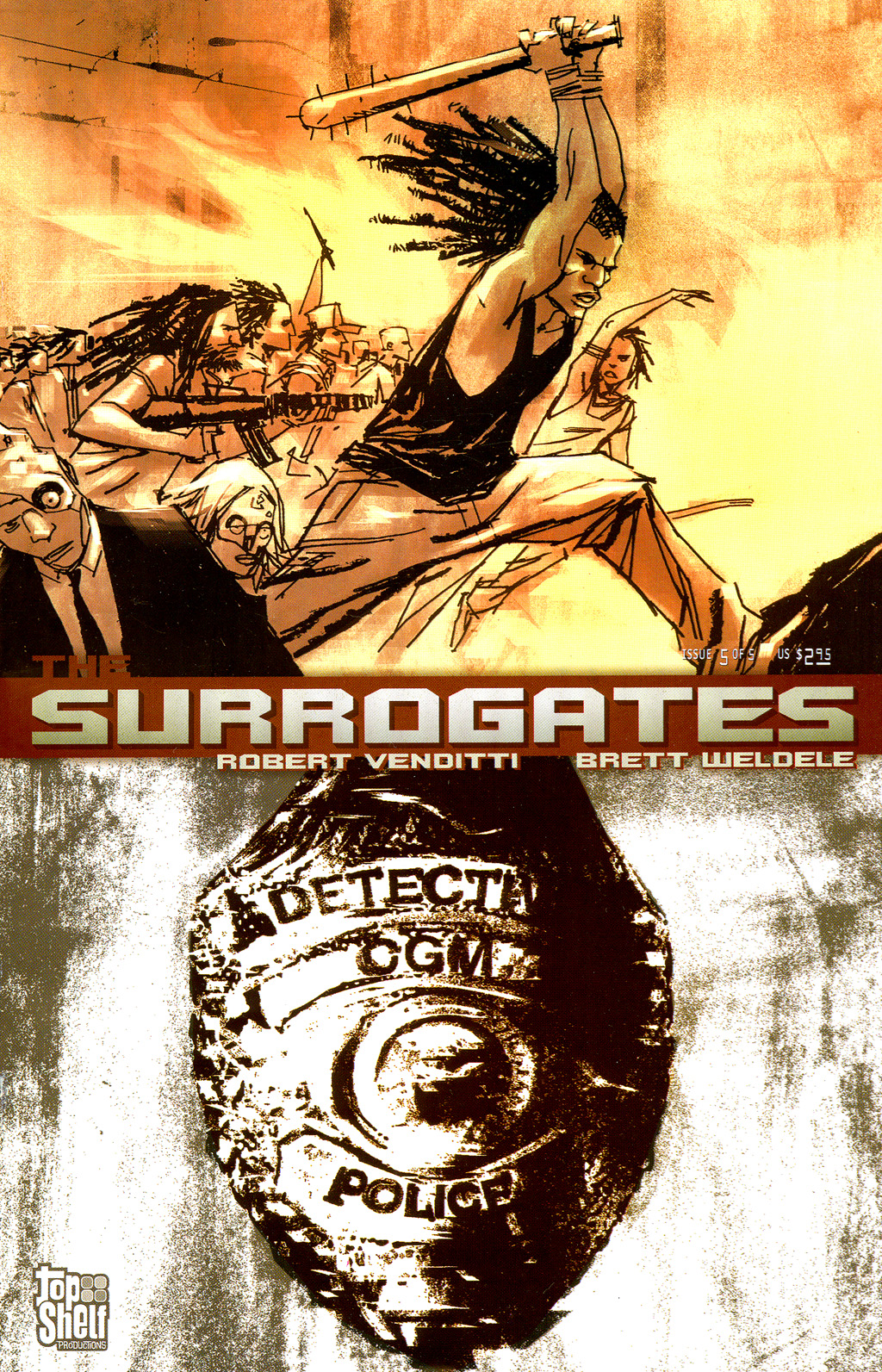 The Surrogates issue 5 - Page 1