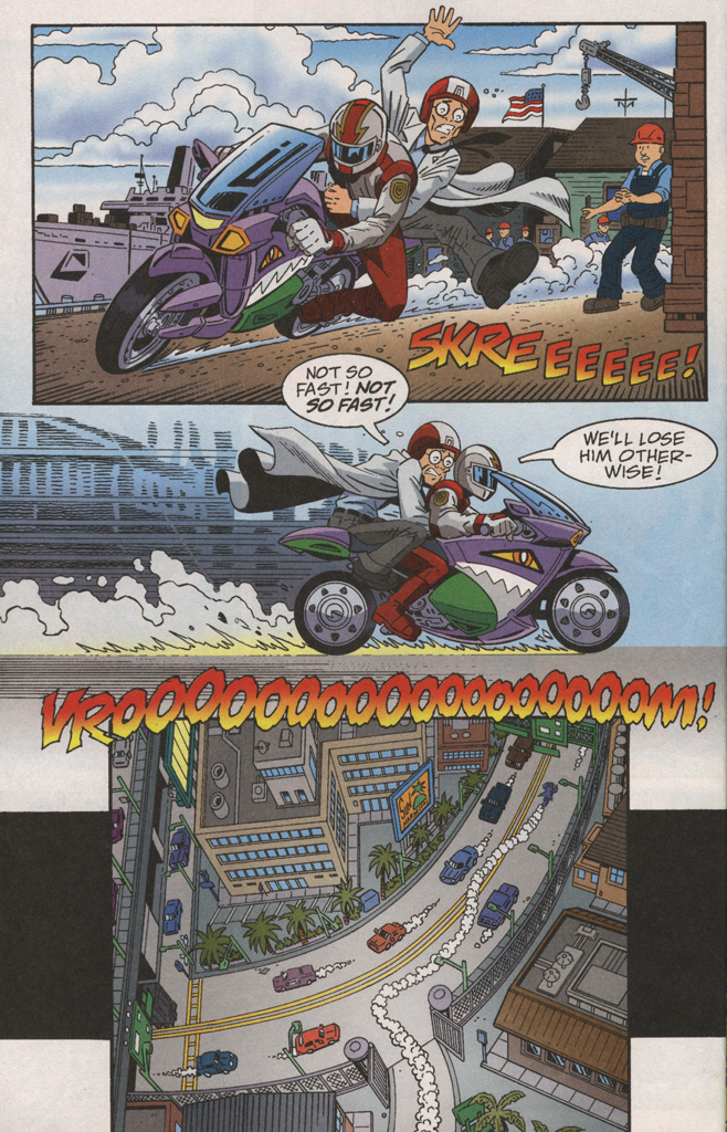 Read online Sonic X comic -  Issue #38 - 12