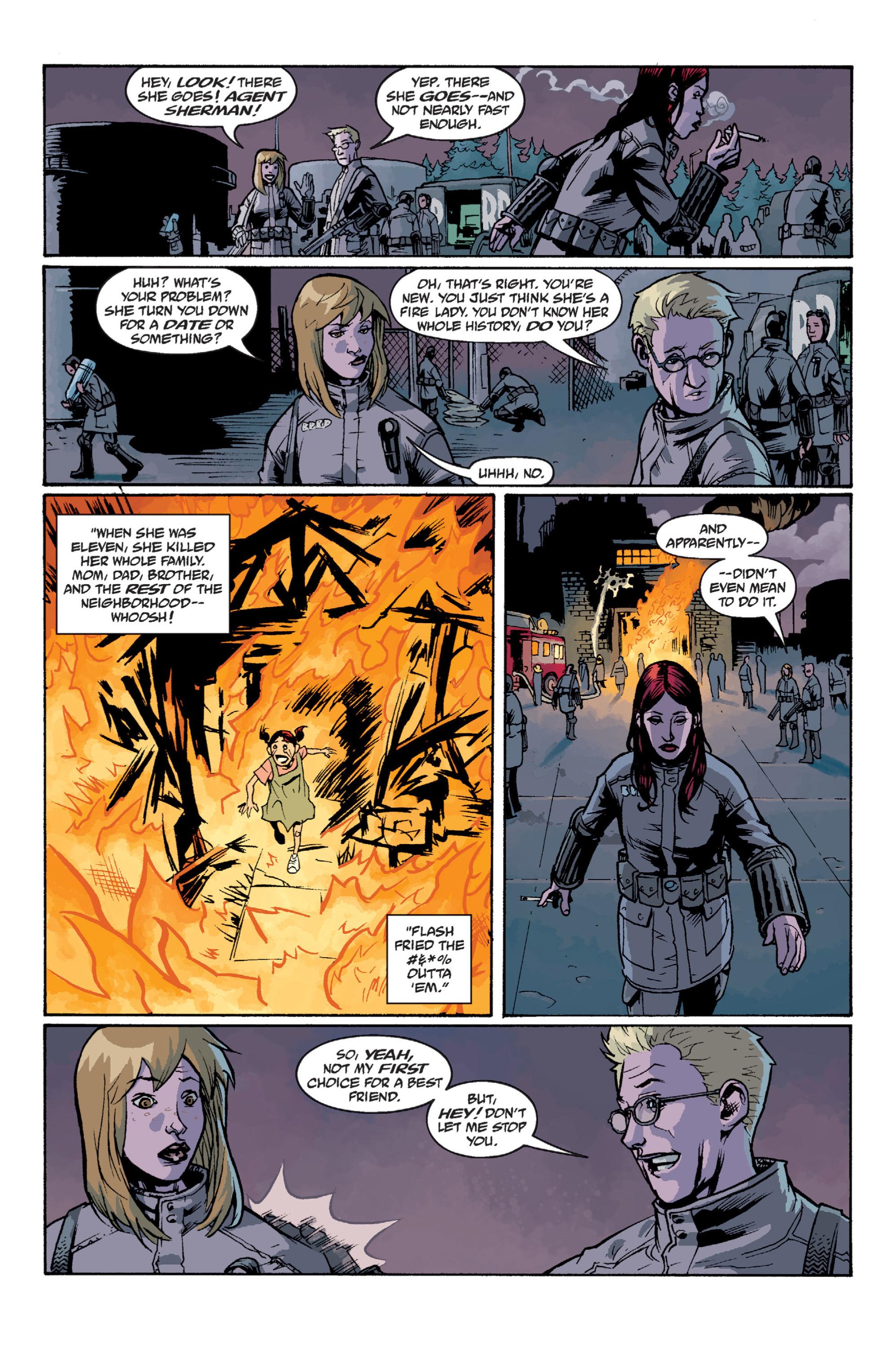 Read online B.P.R.D. (2003) comic -  Issue # TPB 12 - 111