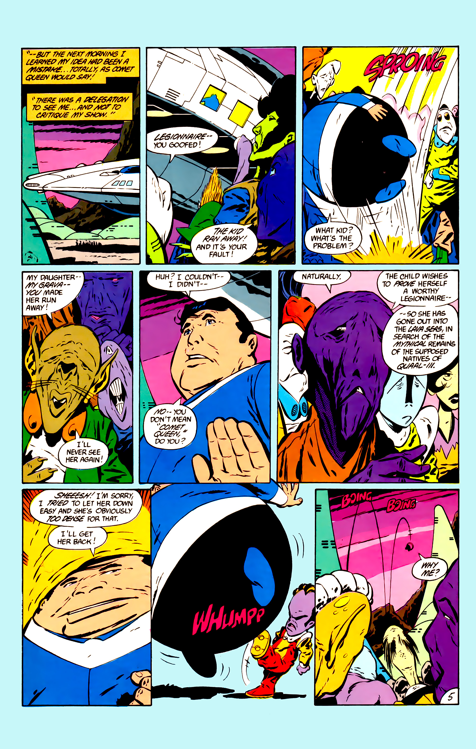 Legion of Super-Heroes (1984) 11 Page 18