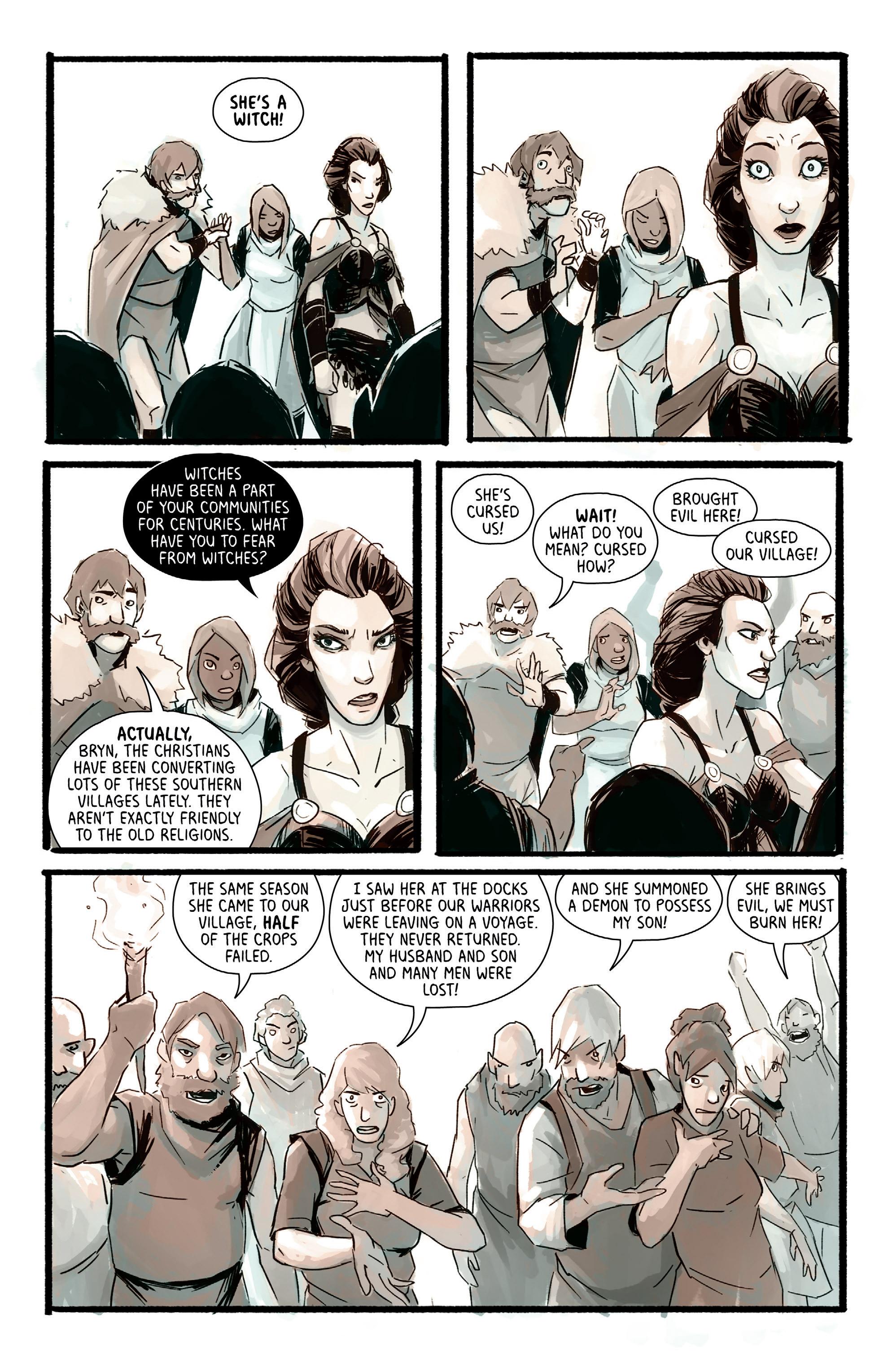 Read online Heathen (2017) comic -  Issue #4 - 10